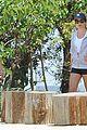lea michele hike parents funny girl 09