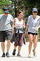 lea michele hike parents funny girl 17