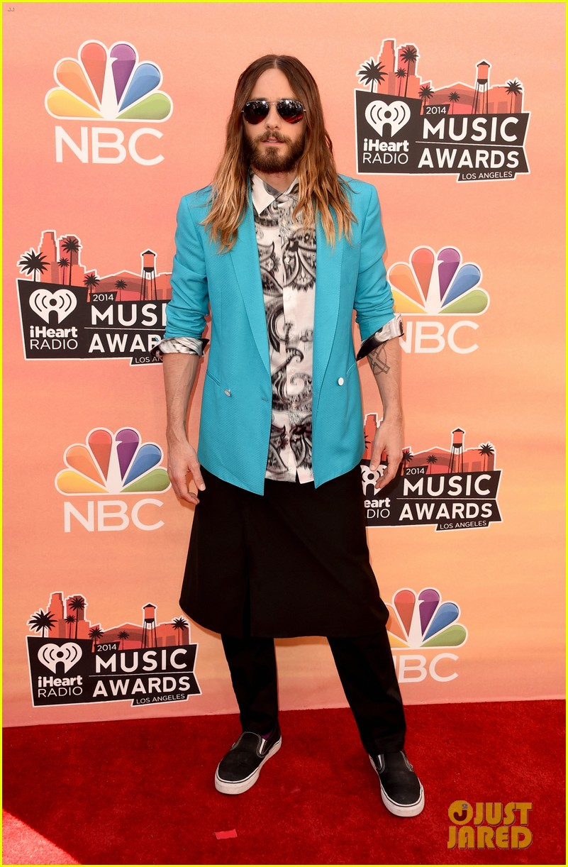 jared leto iheartradio music awards 2014 013103287