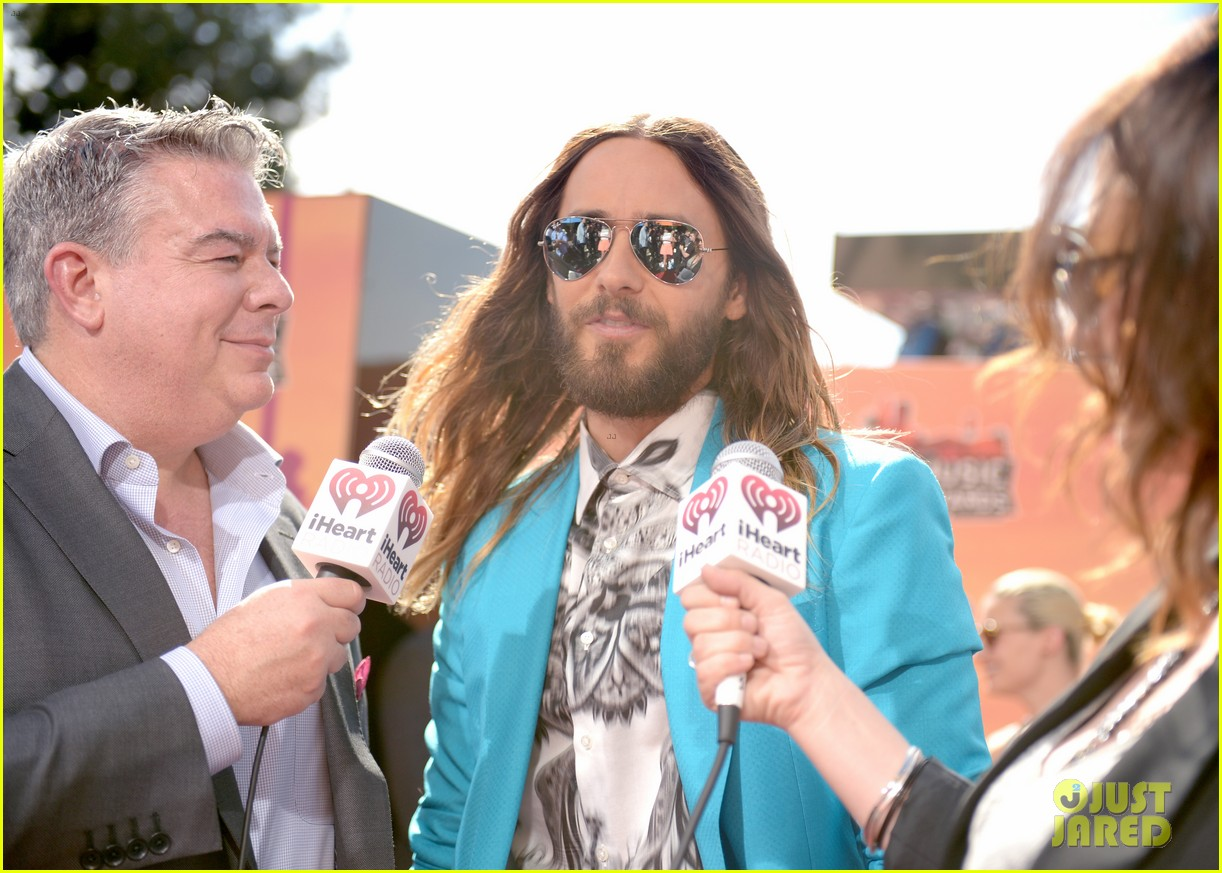 jared leto iheartradio music awards 2014 10