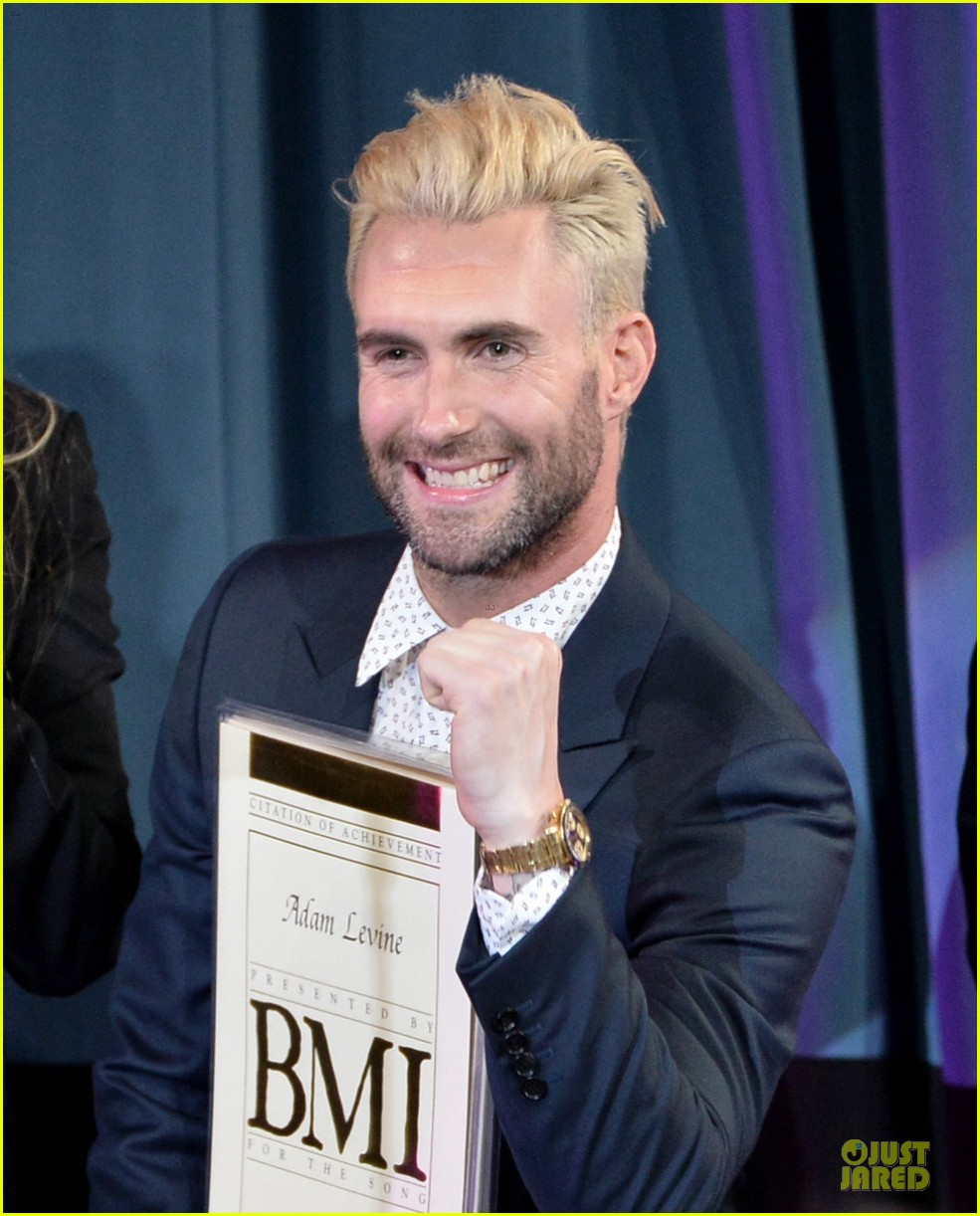 adam levine bmi songwriter of the year 023113033