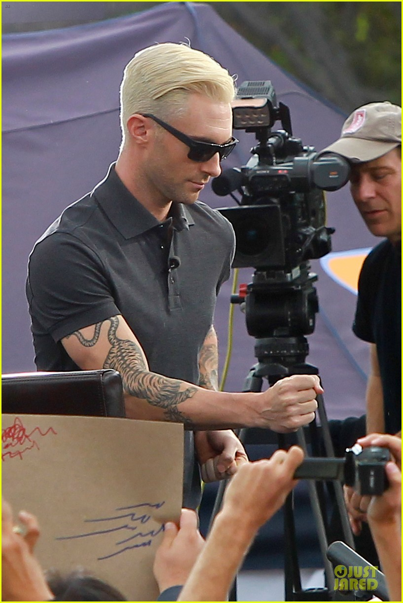 adam levine considers shaving head now 233107565