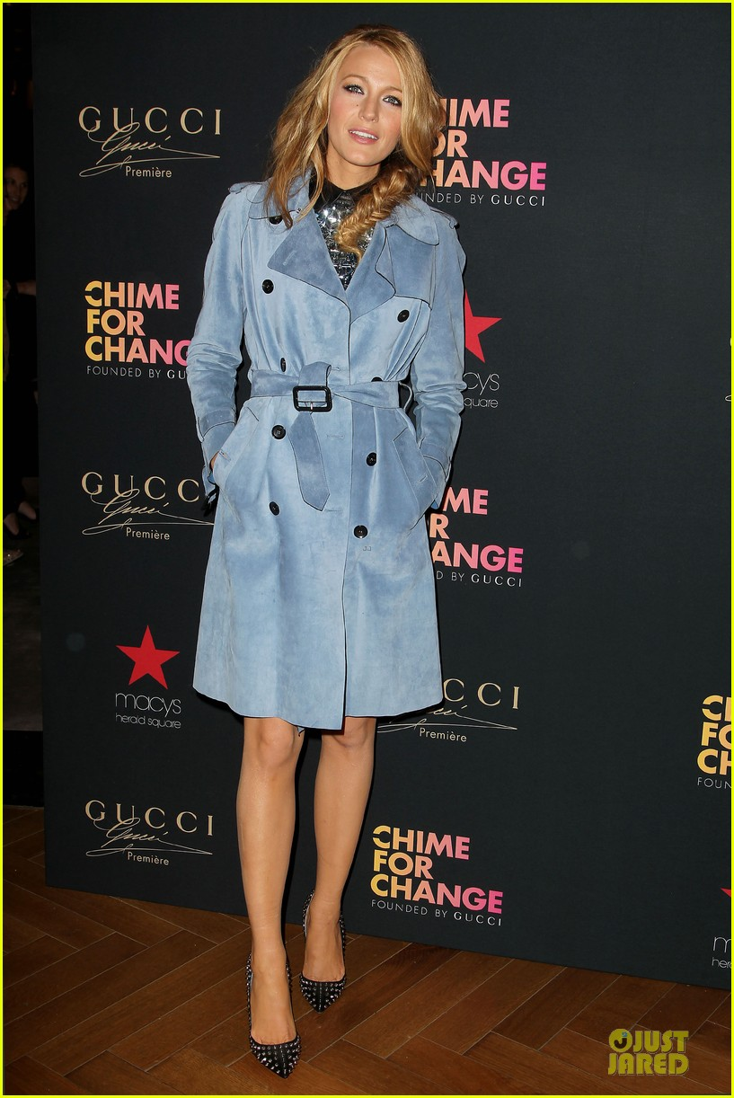 blake lively promote gucci chime for change 13