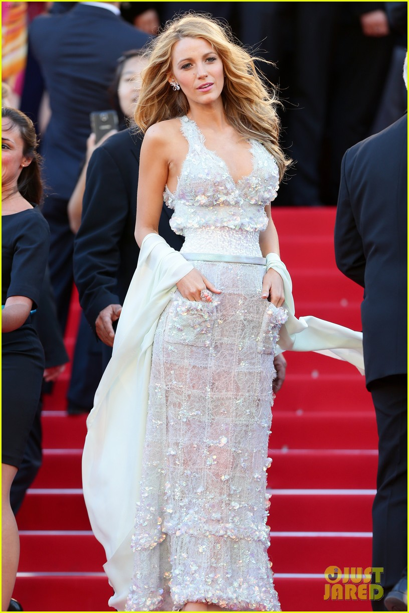 blake lively keeps her hands in her couture dress pockets 01