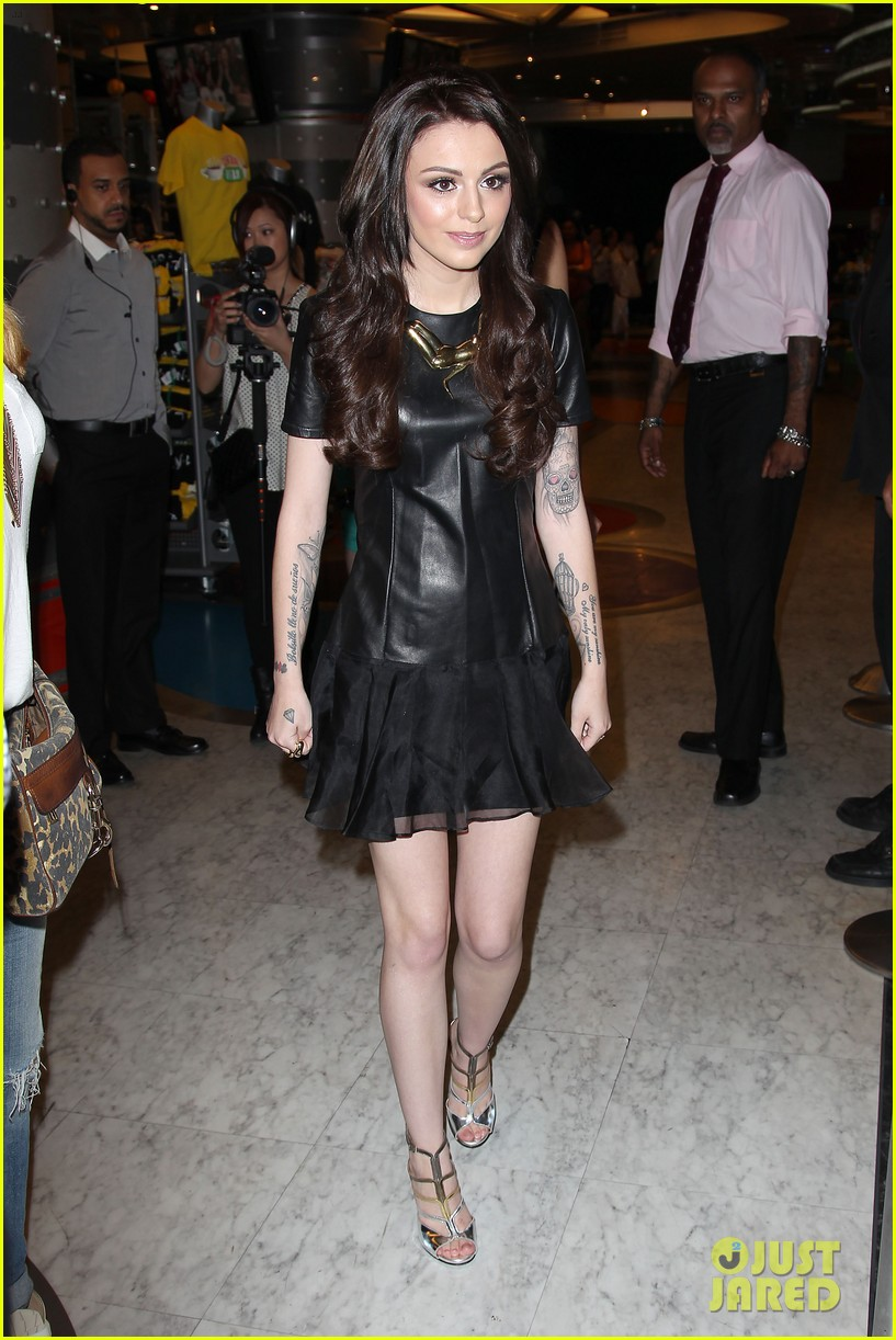 cher lloyd celebrates sorry im late album release in nyc 153123219