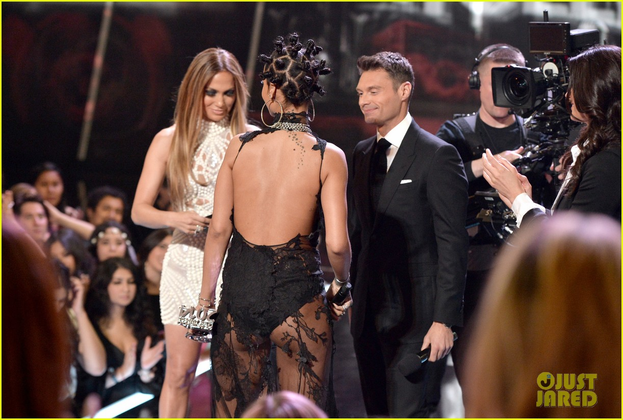 jennifer lopez goes from idol to iheartradio music awards 13