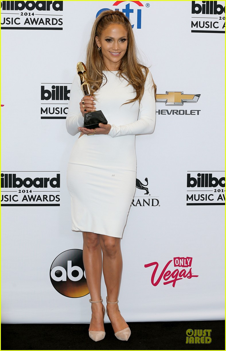 jennifer lopez vision white billboard press room 103117079