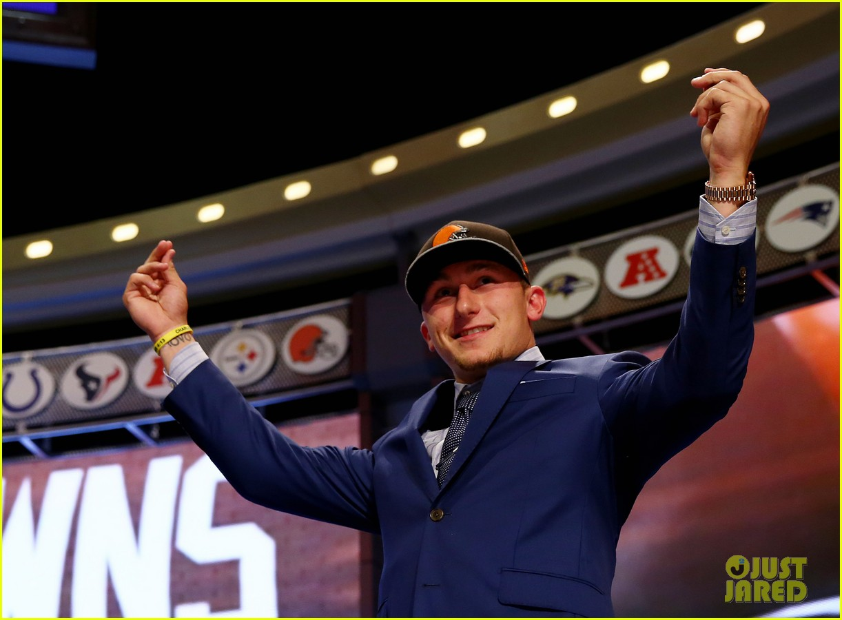 johnny manziel gets picked 22nd in nfl draft 07