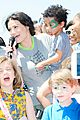 idina menzel takes son walker to born free africa festival 01