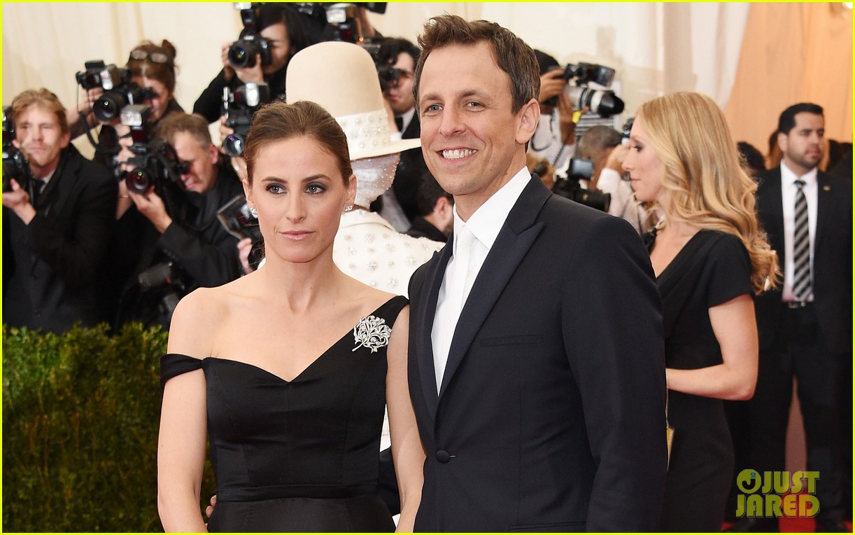 seth meyers brings wife alexi ashe to met ball 2014 03
