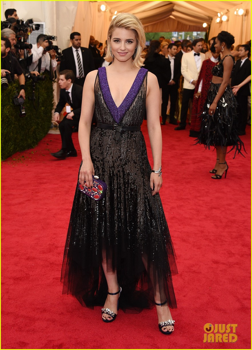lea michele dianna agron met ball 2014 053106062