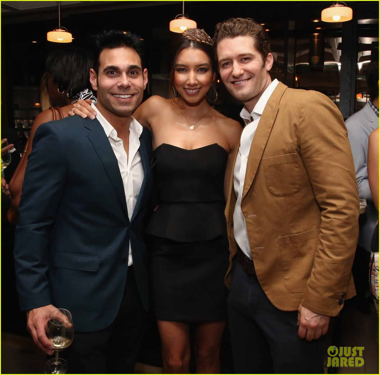 matthew morrison jeremy irvine eric podwall whcd weekend party 183104404