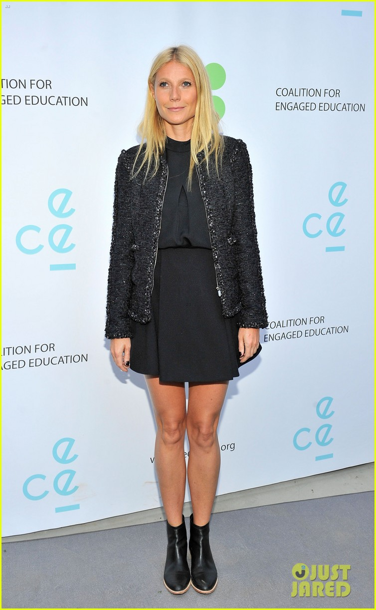 gwyneth paltrow hits the stage for poetic justice fundraiser 02