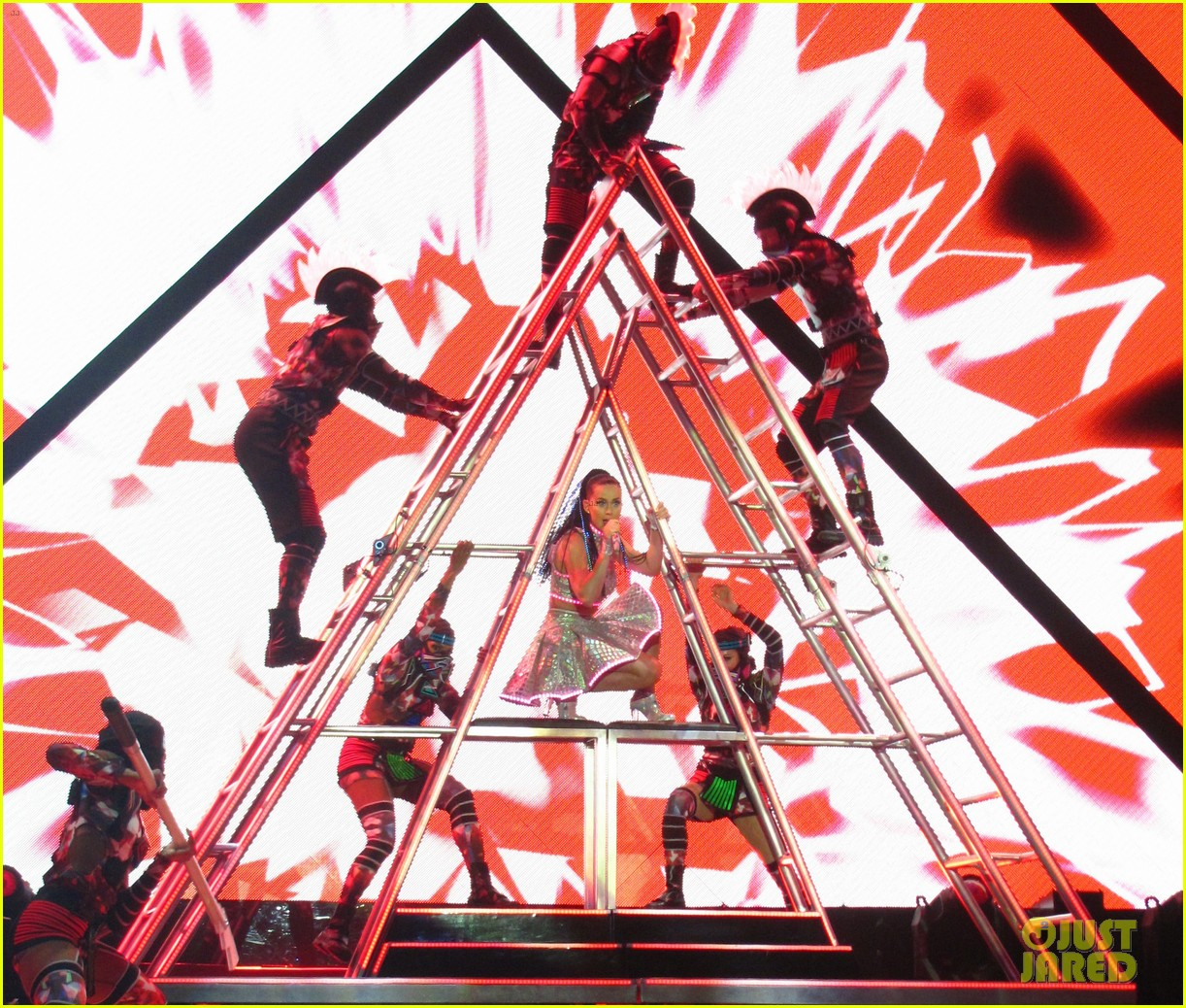 see all of katy perry crazy prismatic tour costumes here 643108271