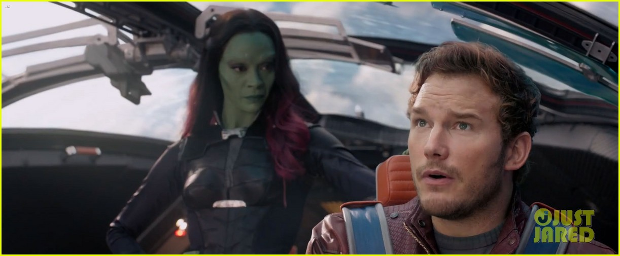 chris pratt flaunts ripped abs in new guardians of the galaxy trailer teaser 043115870