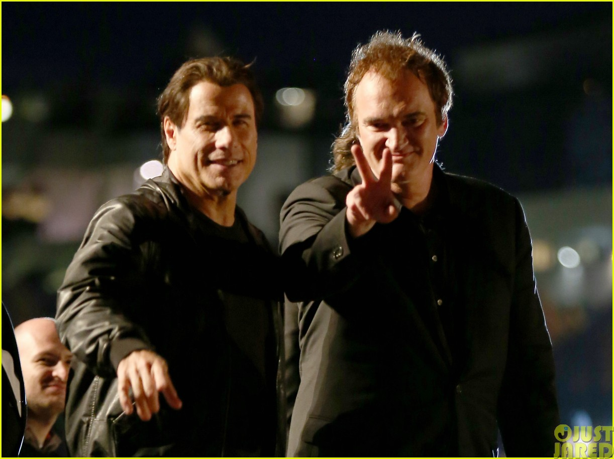 uma thurman john travolta and quentin tarantino reunite for pulp fiction screening at cannes10
