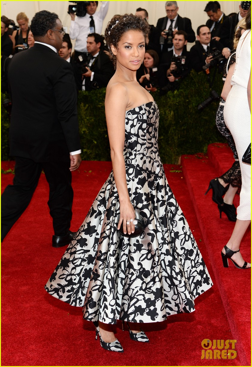 gugu mbatha raw sam reid met ball 2014 09