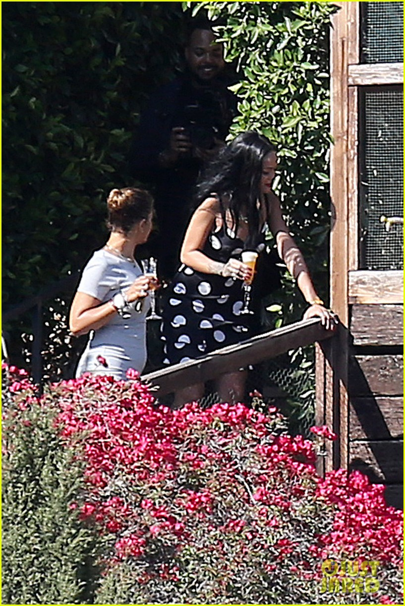 rihanna spends mothers day with family at malibu mansion 21