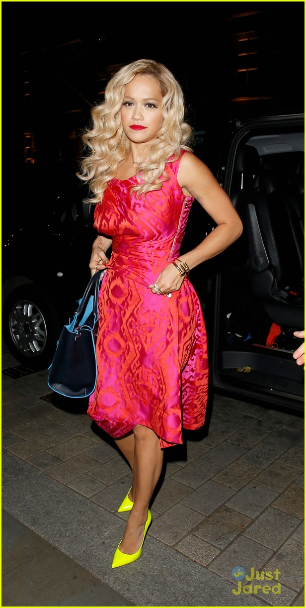 rita ora basket flowers pink dress 303109950