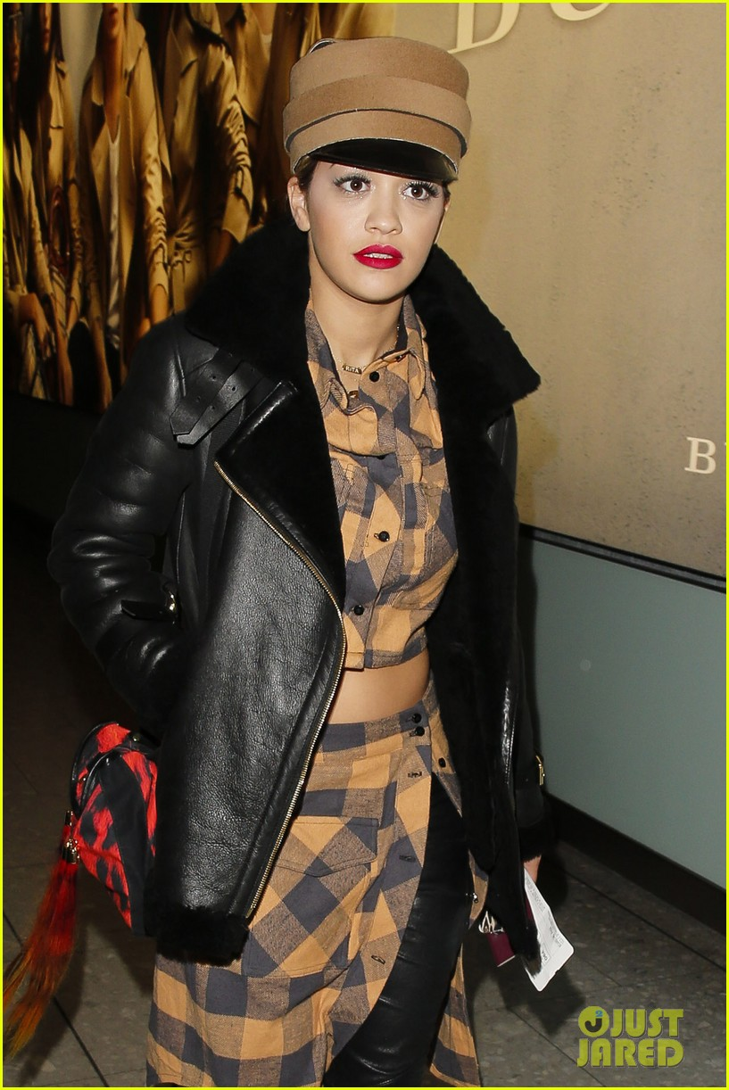 rita ora red bombshell paris 083123000