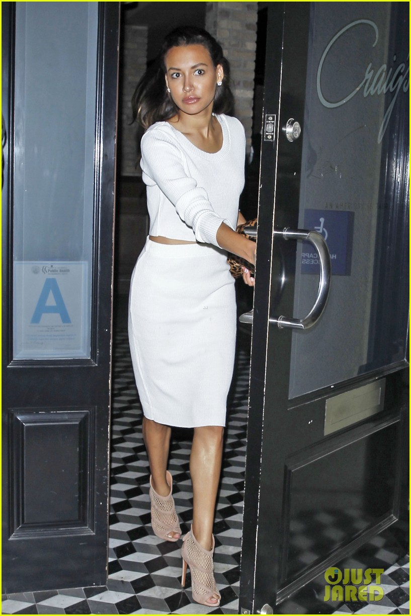 naya rivera dinner out craigs 01