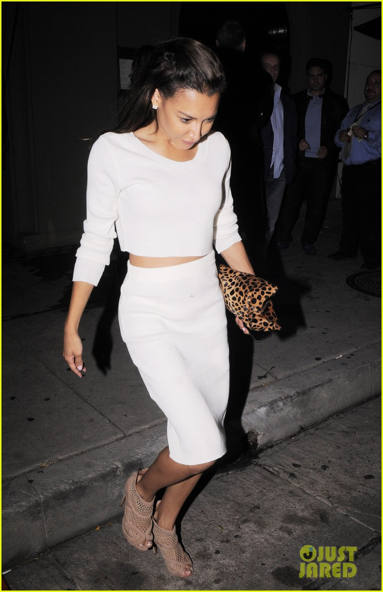 naya rivera dinner out craigs 13