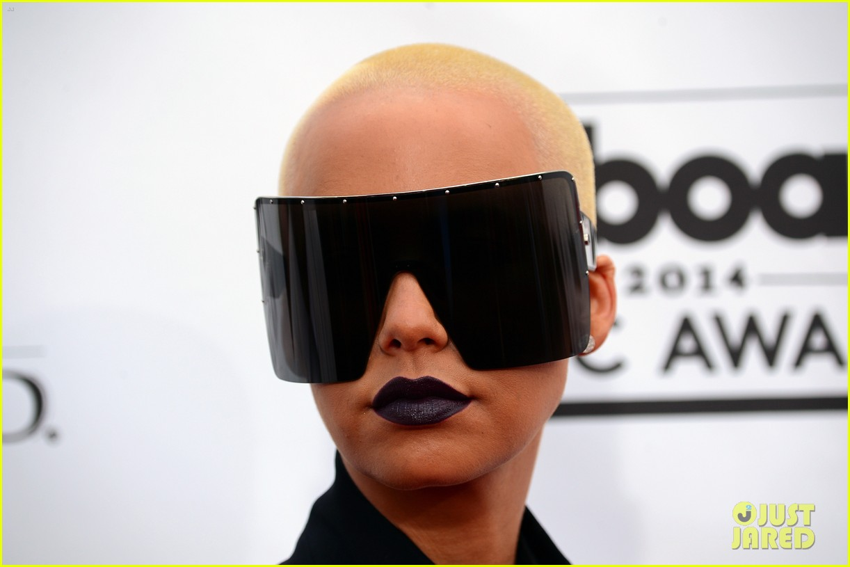 Amber Rose Sunglasses  amber rose wears huge sunglasses at billboard music awards 2016