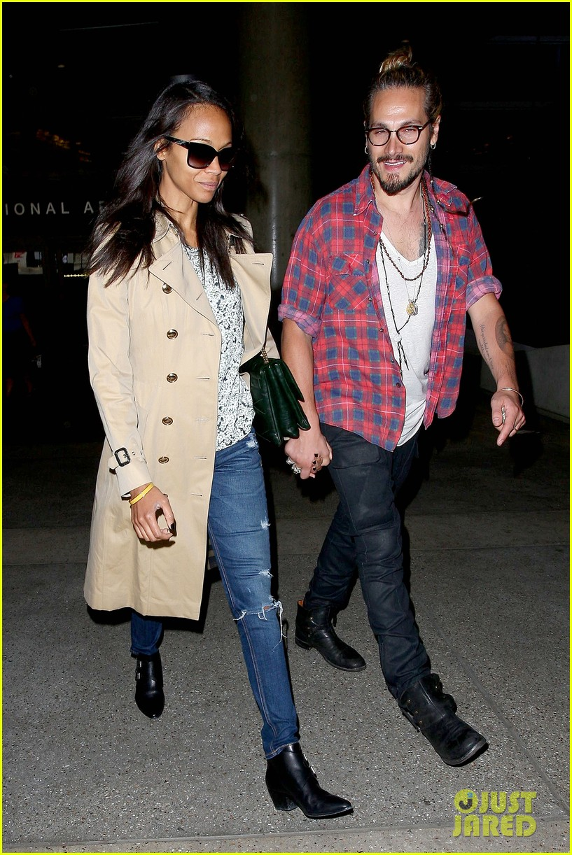 zoe saldana hubby marco perego return to l a after cannes 06