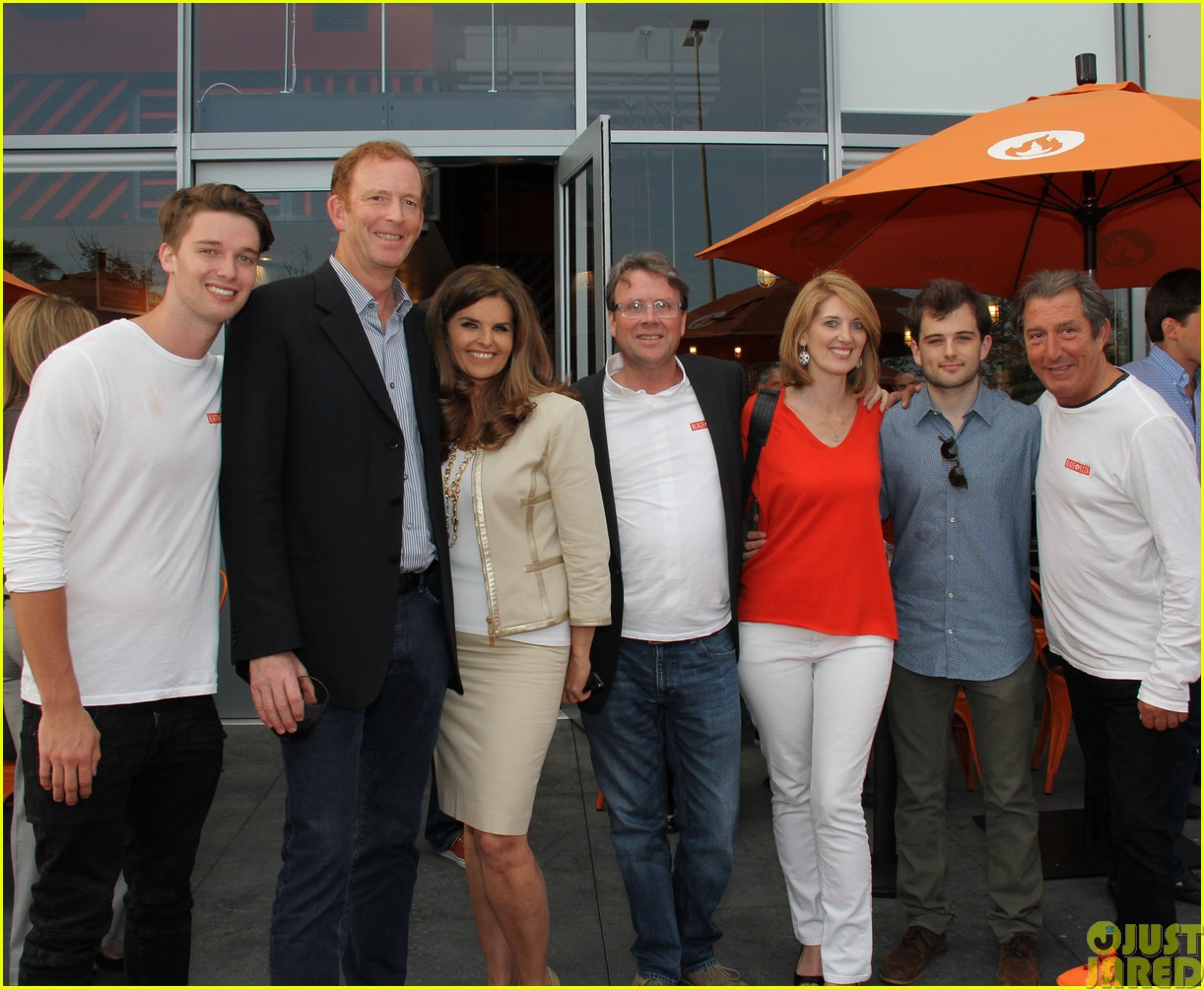 patrick schwarzenegger celebrates the opening of blaze pizza with family and friends02