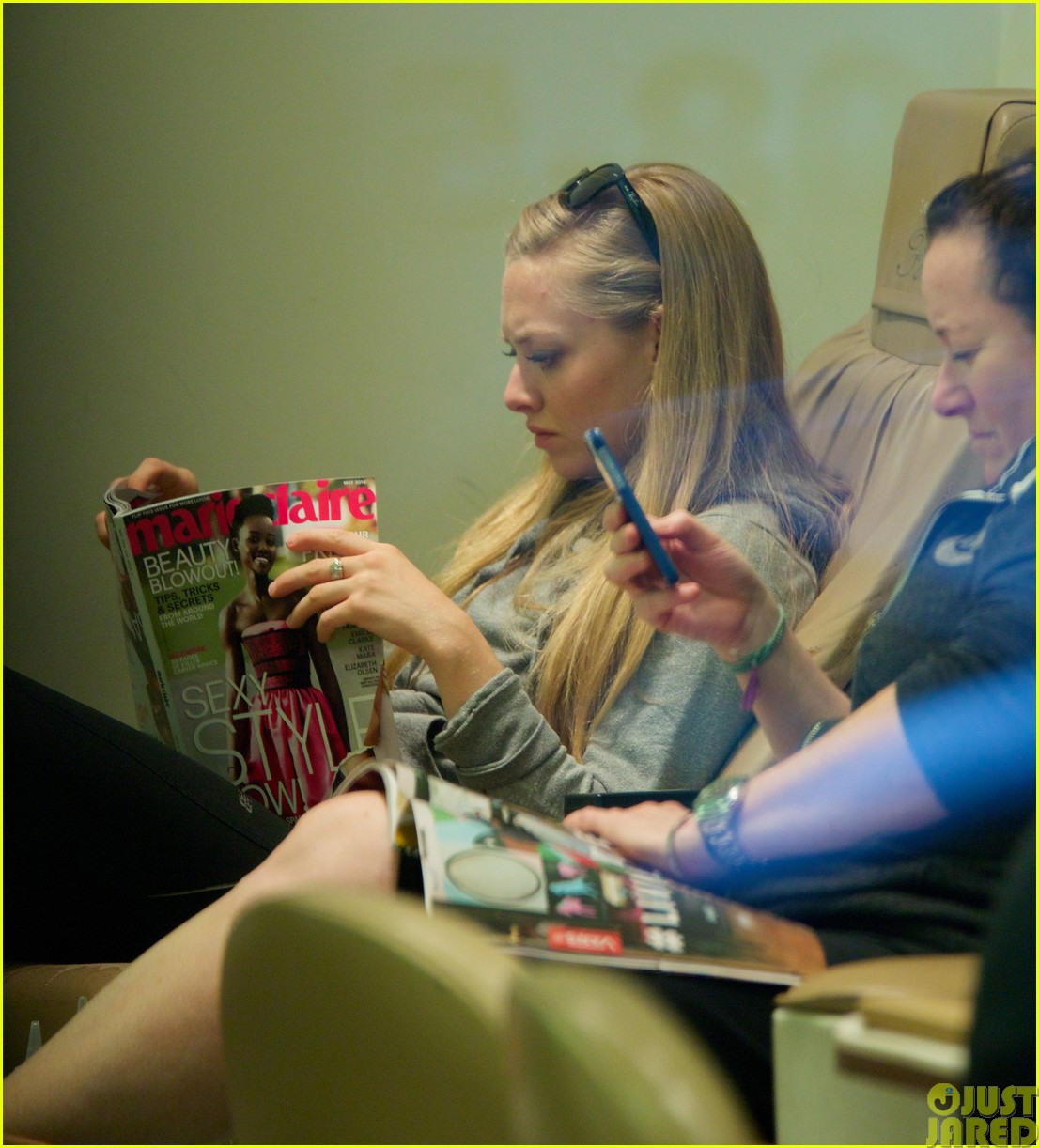 amanda seyfried treats herself to a spa day473120814