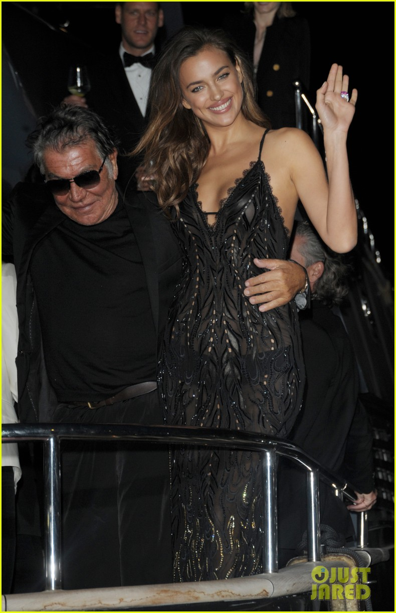 irina shayk green goddess at search premiere cannes 043119632