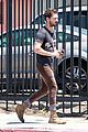shia labeouf gives us a quick peek at his bare torso 13