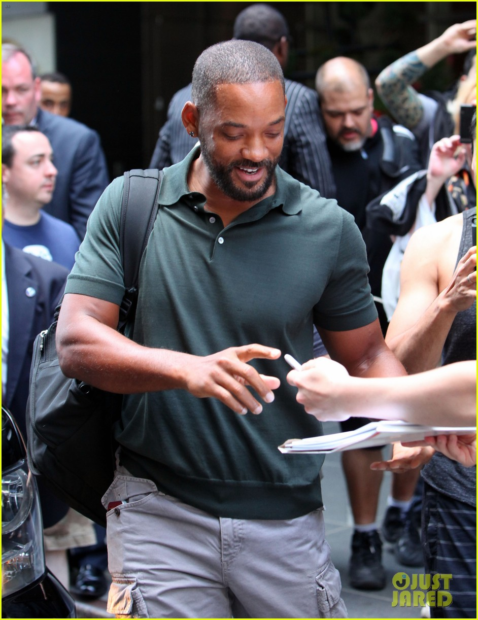 will smith joins wife jada in new york city for fox upfronts 023112100