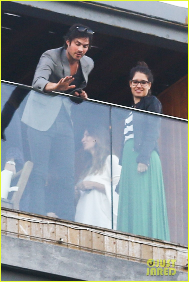 ian somerhalder blows kisses to fans from rio hotel balcony 26