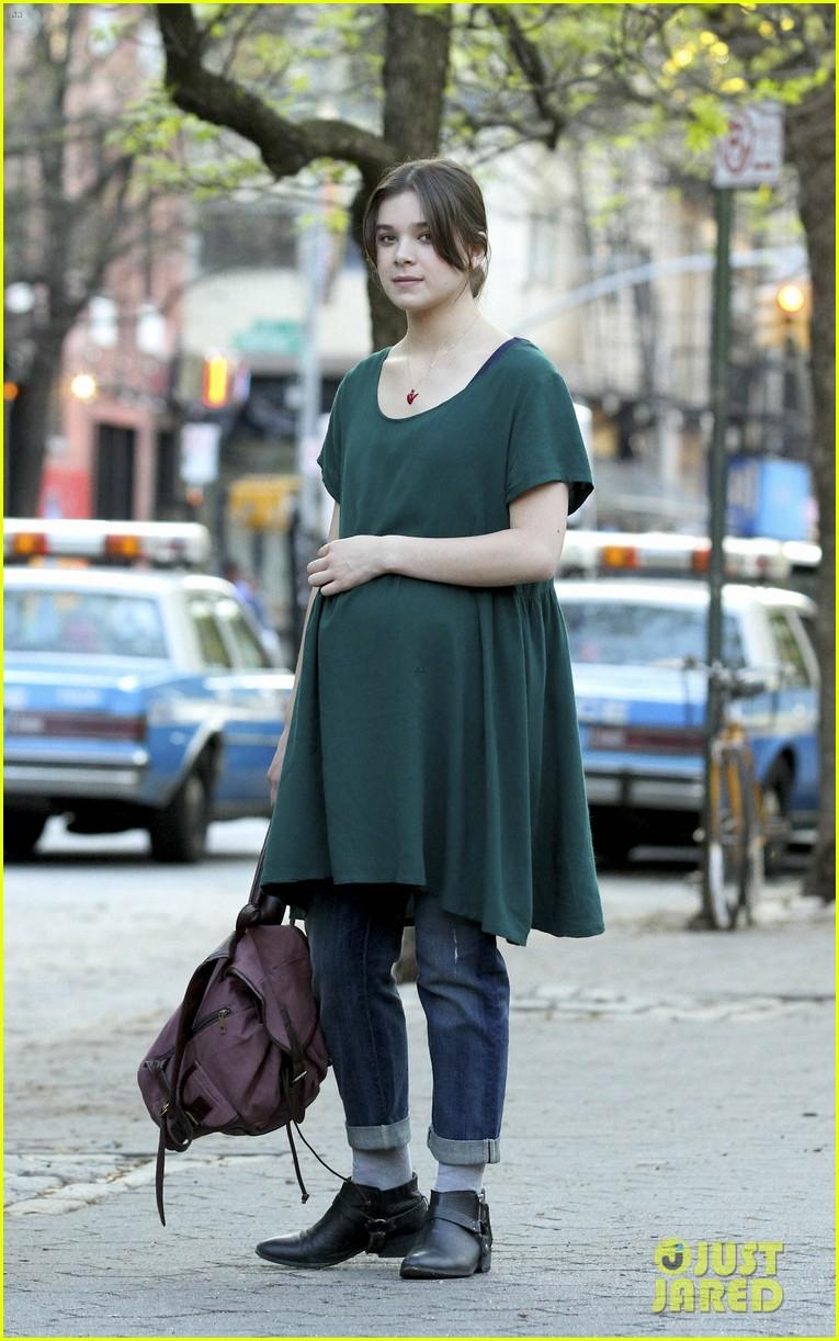 hailee steinfeld pregnant belly for saints 053103691
