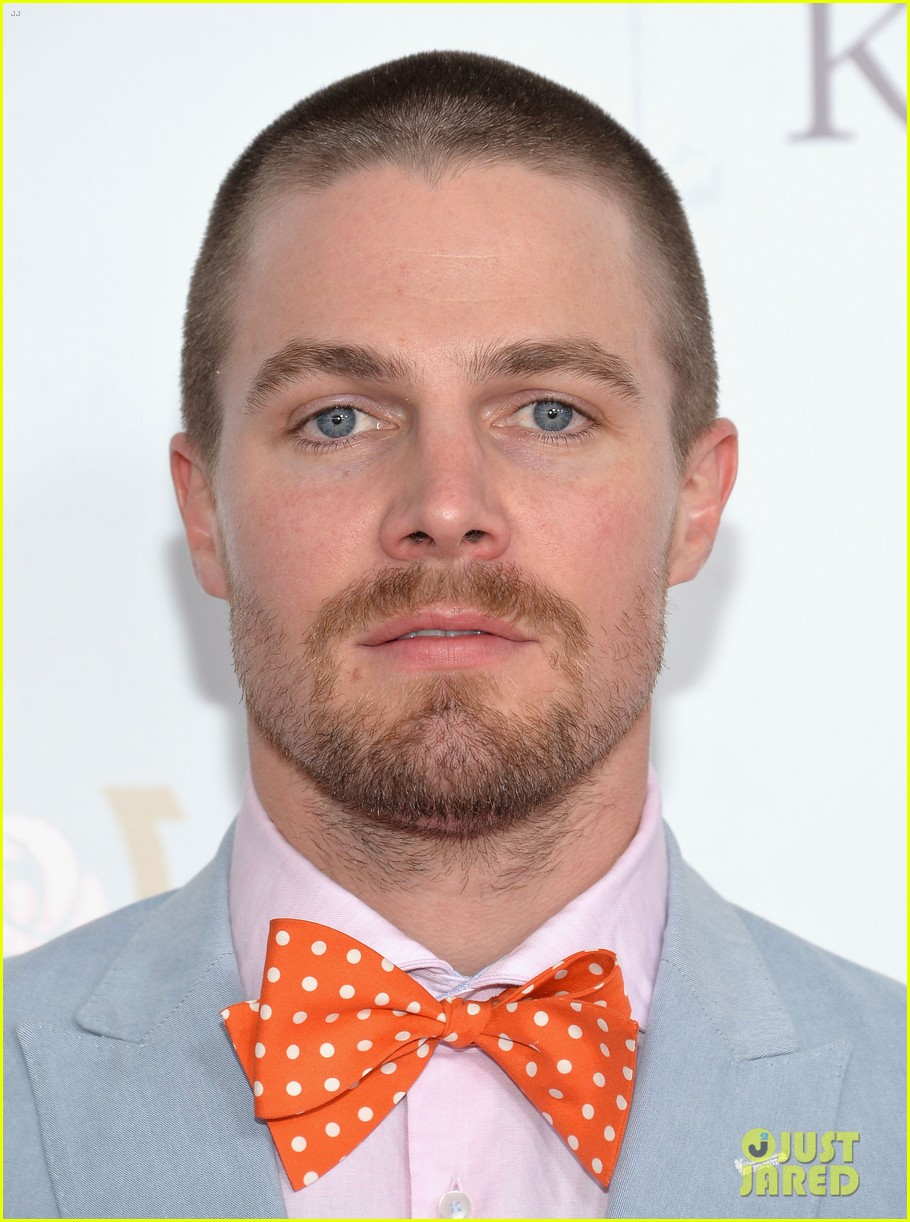 stephen amell josh henderson colorful patterns kentucky derby 01