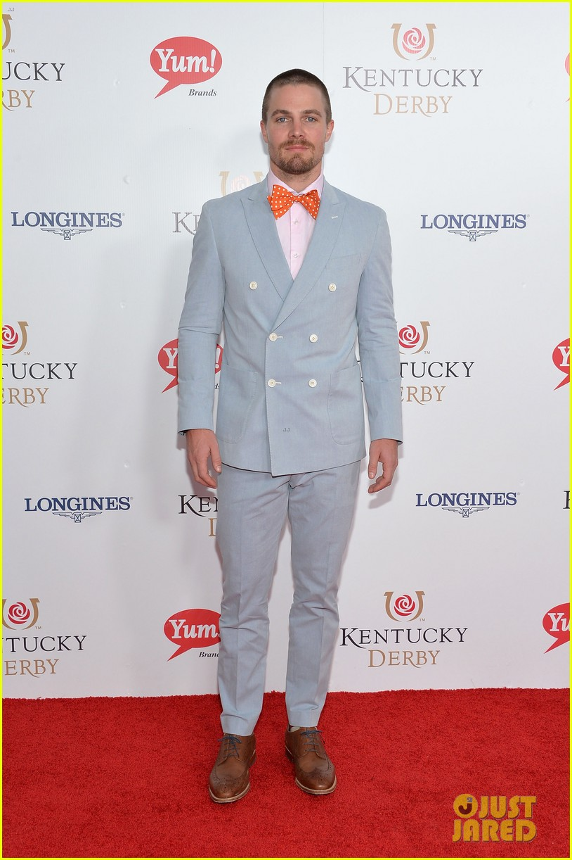 stephen amell josh henderson colorful patterns kentucky derby 14