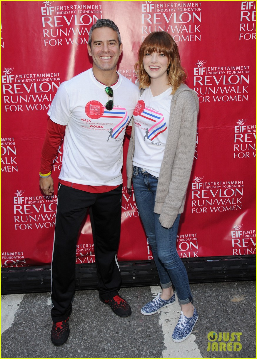 emma stone revlon run walk for women 09