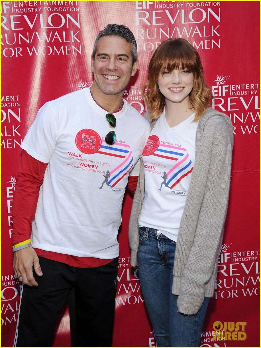 emma stone revlon run walk for women 123104197