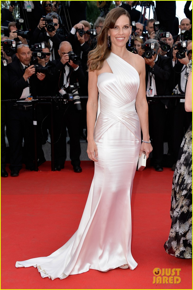hilary swank the homesman premiere photo call cannes 14