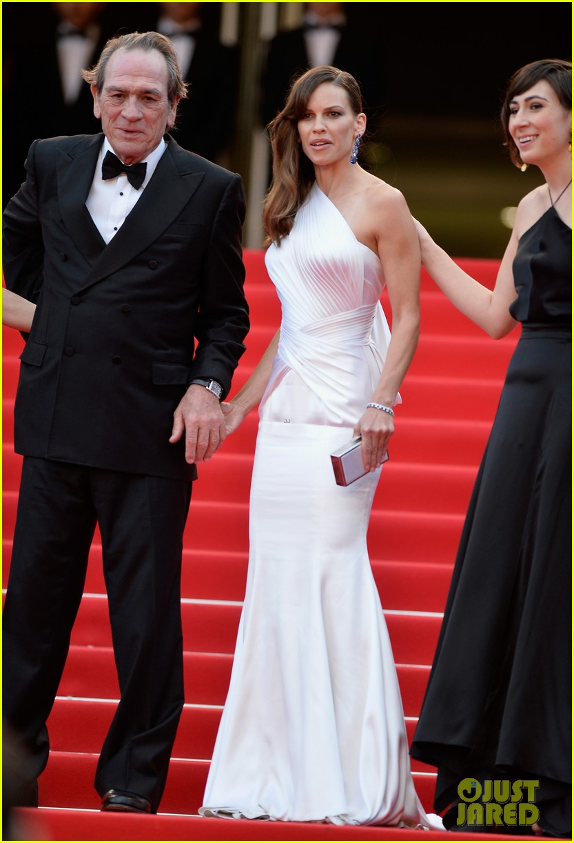hilary swank the homesman premiere photo call cannes 20
