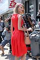 taylor swift red dress meredith met gown 08