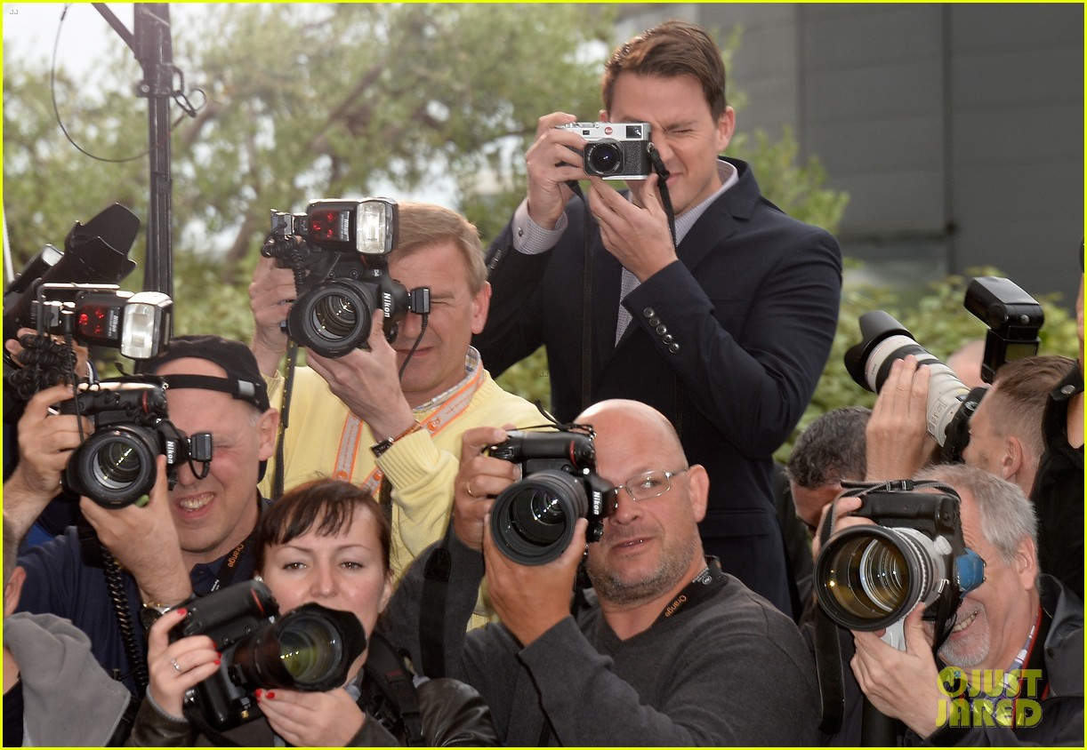 channing tatum foxcatcher cannes photo call 10