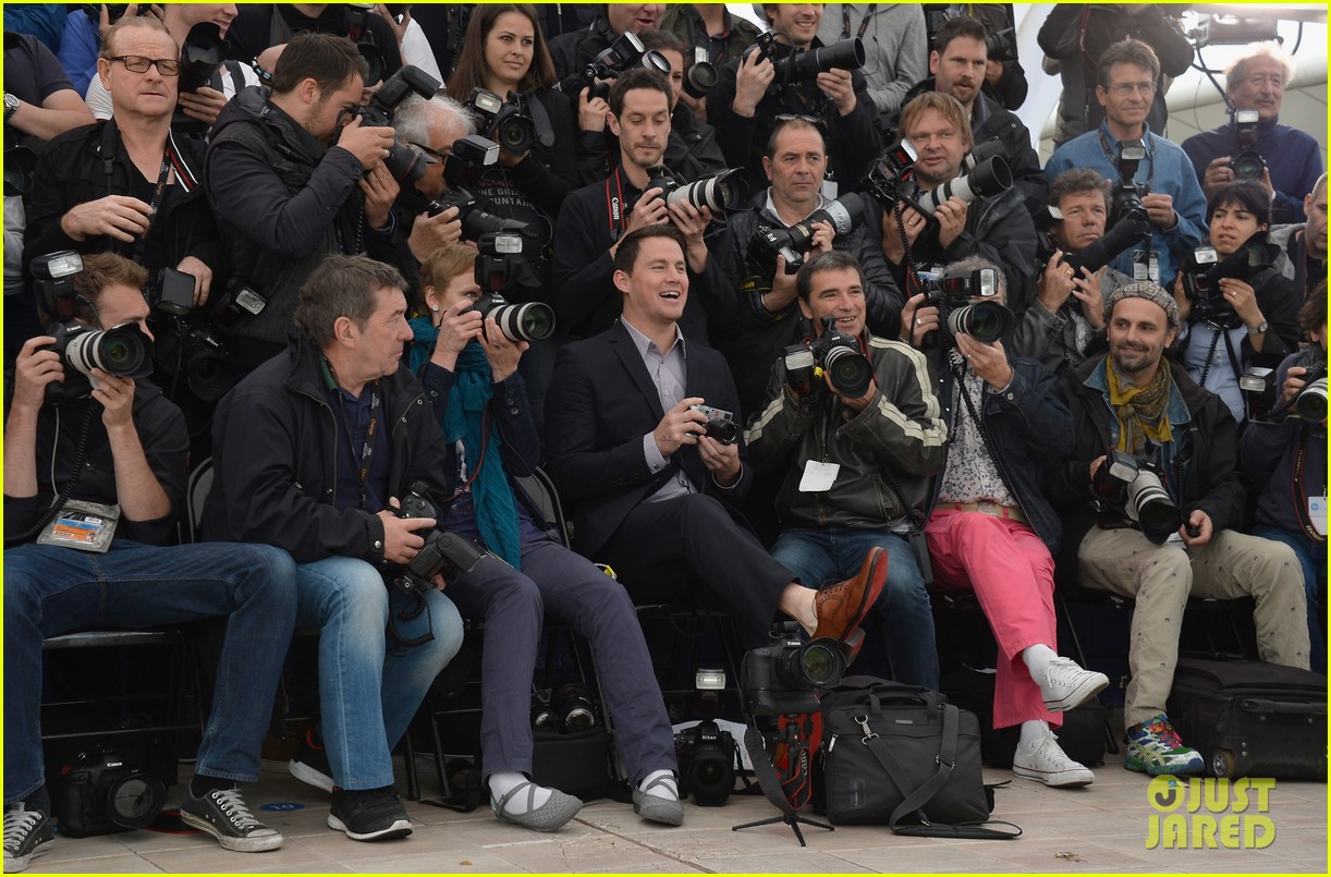 channing tatum foxcatcher cannes photo call 123117330