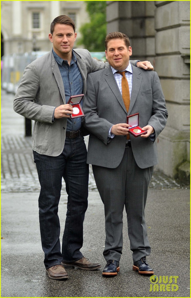 channing tatum jonah hill receive bram stoker awards from trinity college 12