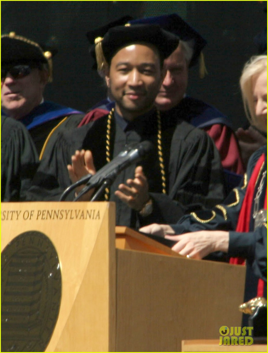 chrissy teigen john legend university of pennsylvania honorary degree 043118188