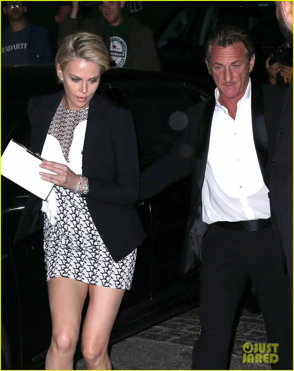 charlize theron sean penn keep the night going at met ball 2014 after party 02