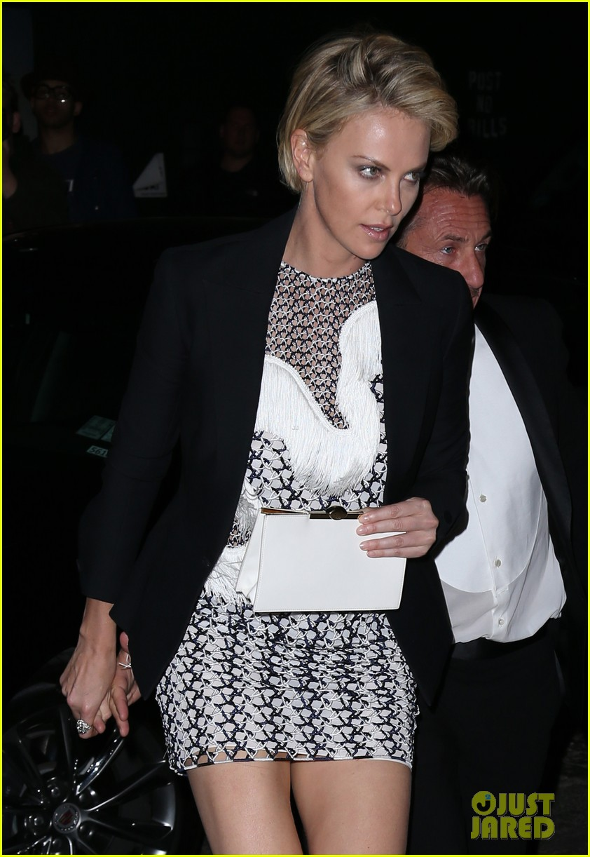 charlize theron sean penn keep the night going at met ball 2014 after party 05