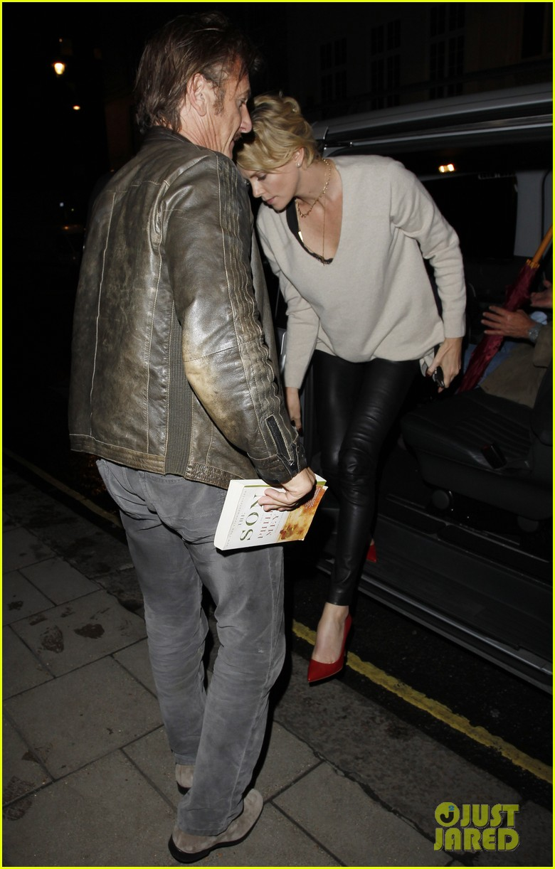 charlize theron call it a night after late night dinner in london 04
