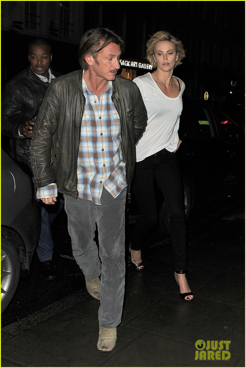 charlize theron sean penn step out for memorial day dinner 063122500